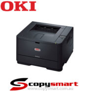 oki B401dn mono printer black
