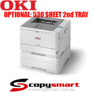 Oki B412dn 2nd tray