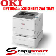 Oki B512dn 530 sheet 2nd tray