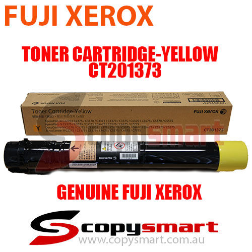 genuine fuji xerox toner cartridge yellow CT201373