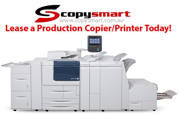 Lease or Rent Production Photocopier Printer with Extras