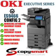 Config2 OKI ES9466 Colour LED Multifunction Office Printer Photocopier w RADF DSDF PFP DM IF
