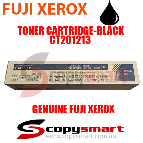 fuji xerox toner cartridge black ct201213 copysmart