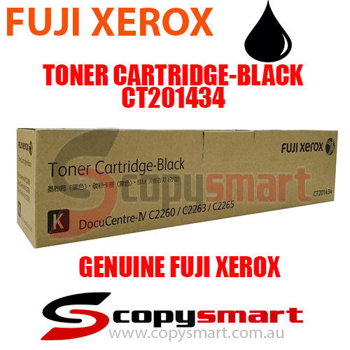 fuji xerox toner cartridge black ct201434 copysmart