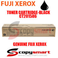 fuji xerox toner cartridge black ct201586 copysmart