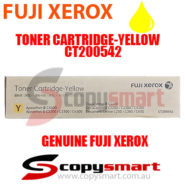fuji xerox toner cartridge yellow ct200542 copysmart
