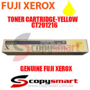 fuji xerox toner cartridge yellow ct201216 copysmart