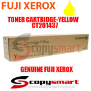 fuji xerox toner cartridge yellow ct201437 copysmart
