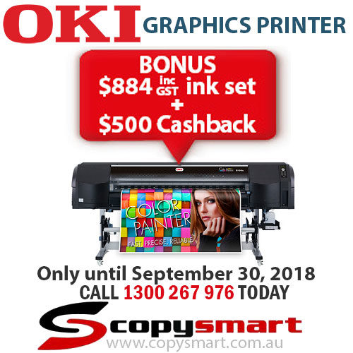 OKI ColorPainter E-64s Graphics Printer BONUS + CASHBACK