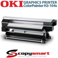 OKI ColorPainter H3-104s Graphics Printer Wide Format Printer
