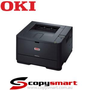 oki B401dn mono printer black