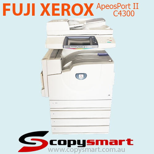 Fuji Xerox ApeosPort II C4300, C3300, C2200 Colour Multifunction Office Printers