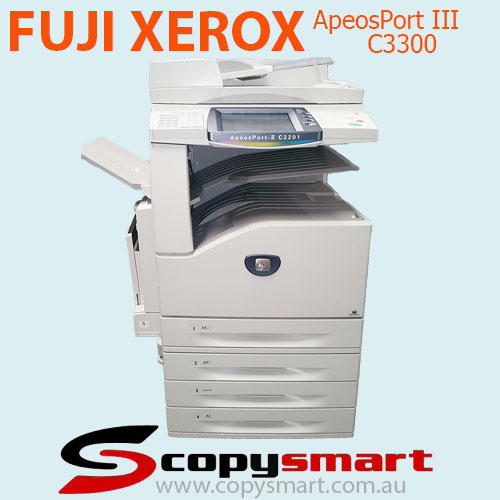 Fuji Xerox ApeosPort III C3300, C2200, C2201 Colour Multifunction Office Printers - Used