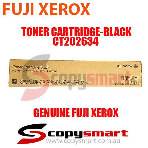 fuji xerox toner cartridge black ct202634 for apeosport & docucentre vi c7771