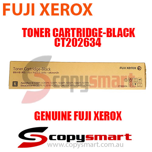 Fuji Xerox Toner Cartridge Black CT202634 Genuine Original Product