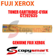 fuji xerox toner cartridge cyan ct202635 for apeosport & docucentre-vi c7771