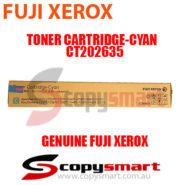 fuji xerox toner cartridge cyan ct202635 for apeosport & docucentre-vi c7771