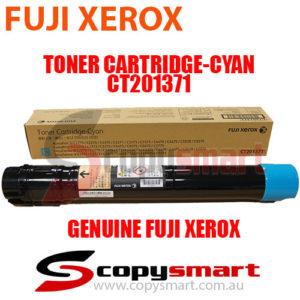 genuine fuji xerox toner cartridge cyan CT201371 copysmart