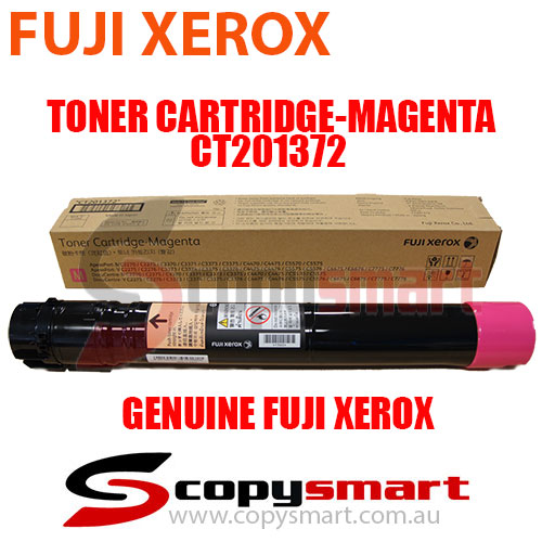 Fuji Xerox Toner Cartridge Magenta CT201372 Genuine Original Product