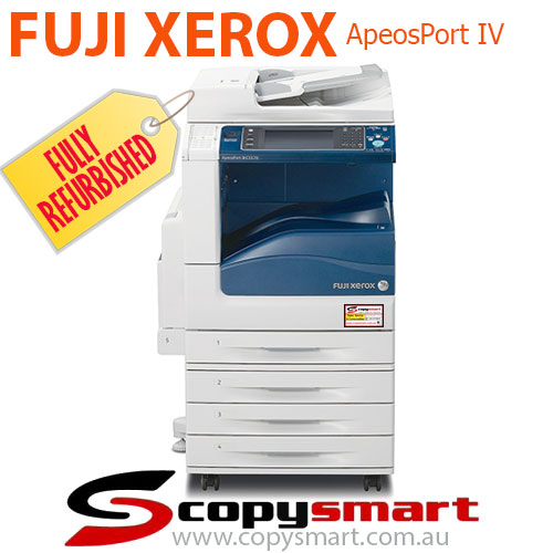 Fuji Xerox ApeosPort-IV C5570, C4470, C3371, C3370 & C2270 Colour Multifunction Office Printer