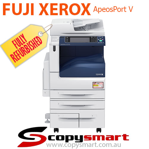 Fuji Xerox ApeosPort-V C7775, C6675, C5575, C4475, C3375, C3373 & C2275 Colour Office Printer Photocopiers