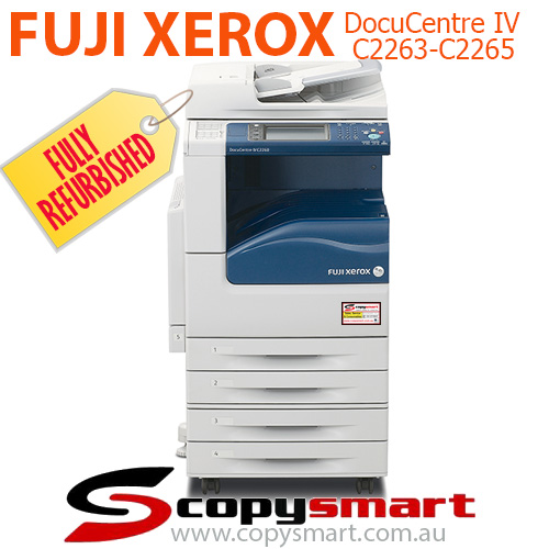 Fuji Xerox DocuCentre-IV C2263 & C2265 Colour Multifunction Office Printer Photocopiers