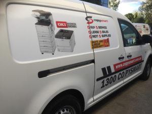 about us copysmart service vehicles