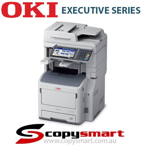 ES7170dn dfn OKI Mono Multifunction Laser Printer Finisher