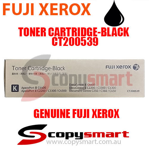 fuji xerox toner cartridge black ct200539 copysmart