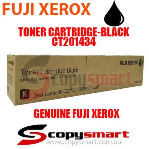 fuji xerox toner cartridge black ct201434 copysmart