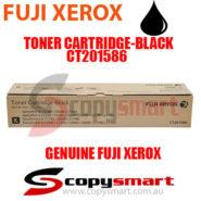 fuji xerox toner cartridge black ct201586 copysmart