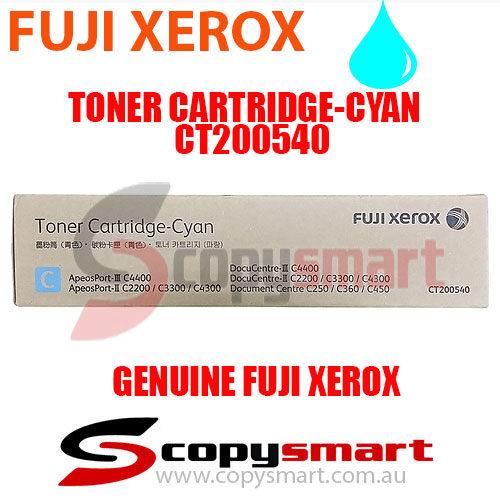 fuji xerox toner cartridge cyan ct200540 copysmart