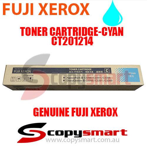 fuji xerox toner cartridge cyan ct201214 copysmart
