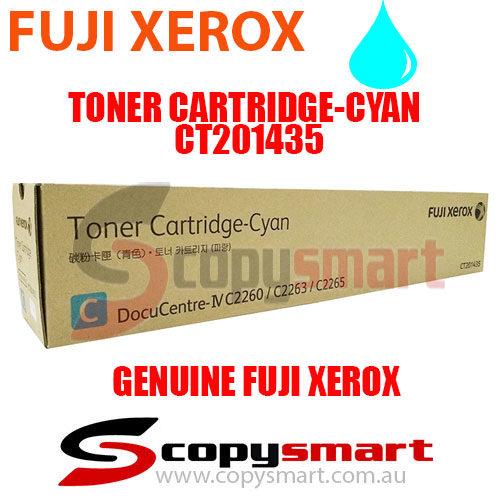 fuji xerox toner cartridge cyan ct201435 copysmart