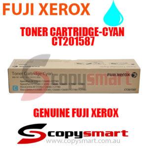 fuji xerox toner cartridge cyan ct201587 copysmart