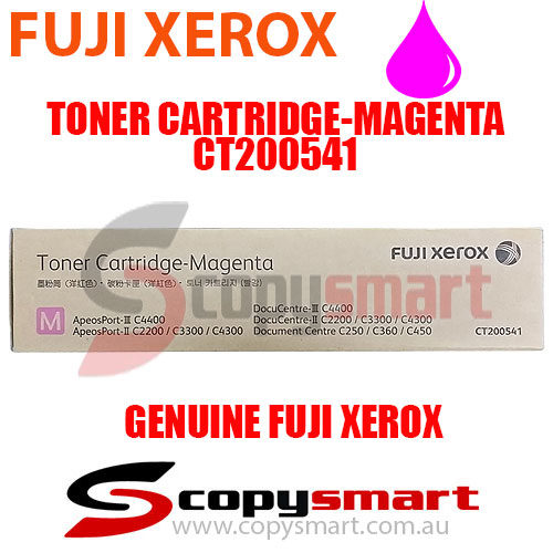 fuji xerox toner cartridge magenta ct200541 copysmart