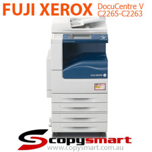 Fuji Xerox DocuCentre-V C2265 & C2263 Refurbished Copiers copysmart