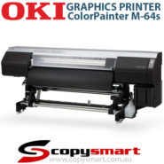 OKI ColorPainter M-64s Graphics Printer Large Format Printer