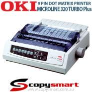 OKI Microline 320 Turbo Plus 9 Pin Dot Matrix Printers