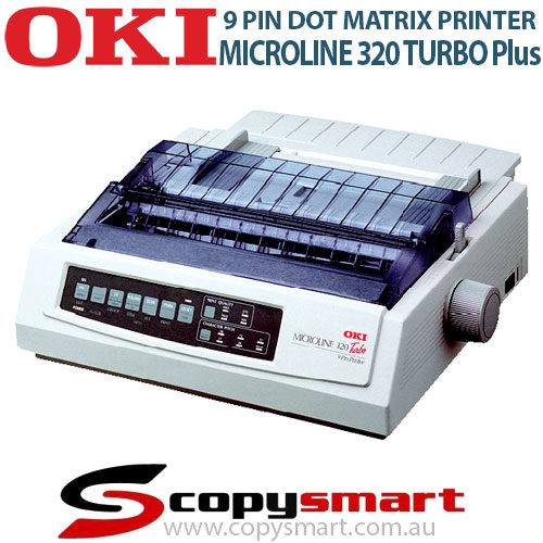 OKI Microline 320 Turbo Plus 9 Pin Dot Matrix Printers