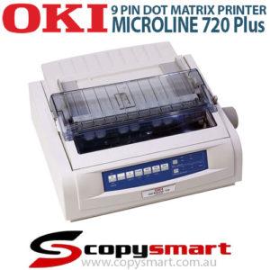 OKI Microline 720 Plus 9 Pin Dot Matrix Printer