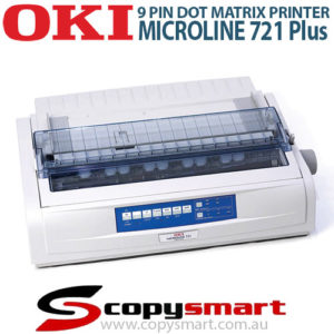 OKI Microline 721 Plus 9 Pin Dot Matrix Printer