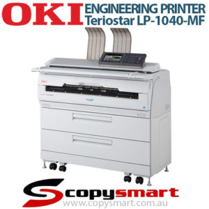 OKI Teriostar LP 1040 MF Engineering Printer