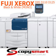 Fuji Xerox D95 D110 D125 Mono Copier Printer