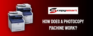 how does a photocopier machine work