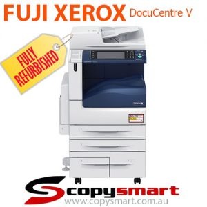 how to connect Fuji Xerox DocuCentre to the computer