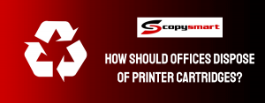 how to dispose of the printe cartridges