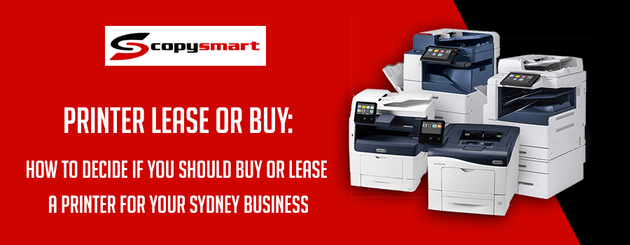 printer lease and buy